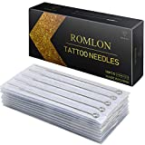 Romlon Tattoo Needles Set - 50Pcs Disposable Sterile Mixed Assorted Tattoo Needles 3RL 5RL 7RL 9RL 5RS 7RS 9RS 5M1 7M1 9M1 Liners, Shaders and Magnum for Tattoo Machines Gun Ttattoo Supplies