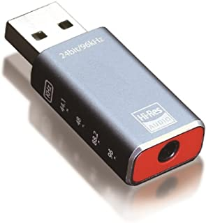 プリンストン ハイレゾ対応USBオーディオDAC 24bit/96Khz PAV-HAUSB