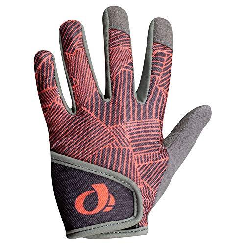 PEARL IZUMI Junior Mountain Bike Glove, Phantom/Fiery Coral Lucent, L