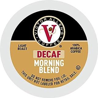 Victor Allen's Coffee K Cups, Decaf Morning Blend Single Serve Light Roast Coffee,..