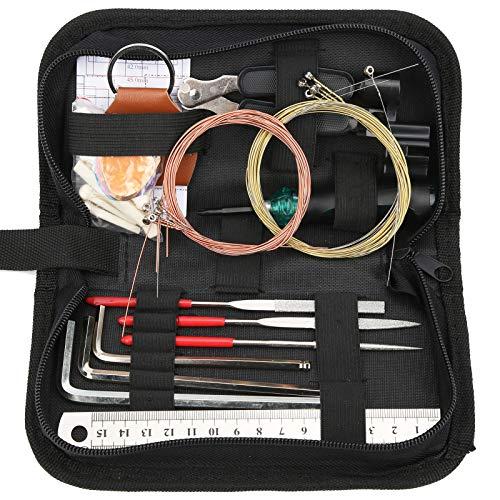 Gitarrenreparaturwerkzeug, praktisches starkes kleines 3-in-1-Saitenwechselwerkzeug, Ukulele-E-Gitarre für Banjo-Mandoline