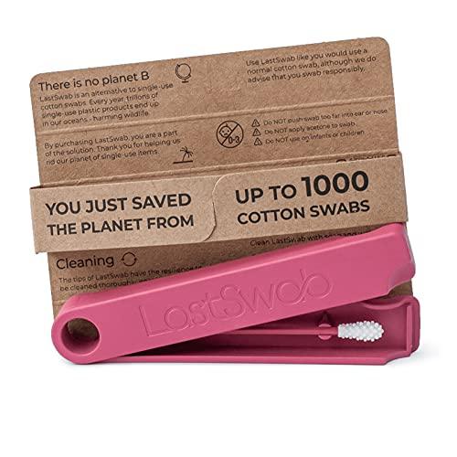 LastSwab Bastoncillos Oídos de LastObject - Bastoncillos Ecológicos Q-Tip - Diseñado en Dinamarca - Bastoncillo de Silicona Limpiador Oídos - Zero Waste