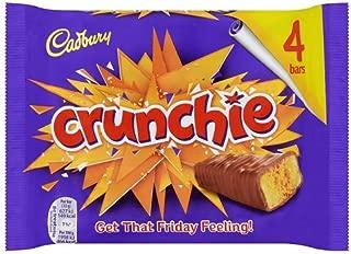 Original Cadbury Crunchie Chocolate Bar Pack Cadbury Crunchie Candy Imported From The UK England The Best Of British Honey Comb Coated In Chocolate Crunchie Bar