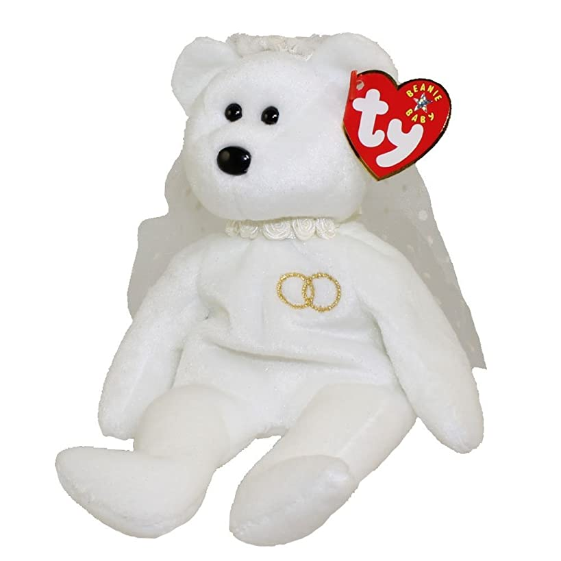 TY Mrs the Bride Bear Beanie Baby by Ty