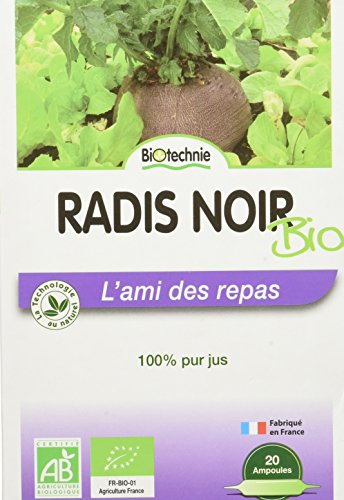 Biotechnie - Radis Noir Confort Digestif 20 Ampoules Biotechnie