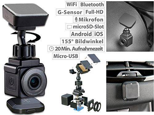 NavGear WiFi Mini Dashcam mit Full HD - 2