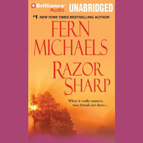 Razor Sharp audiobook cover art