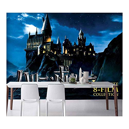 Harry Potter Tapete, Castle Tapestry Photo, for Die Dekoration des Wohnzimmers Schlafzimmer (Color : 2, Size : 150 * 105cm)
