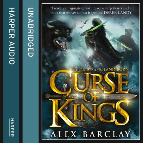 Curse of Kings audiobook cover art