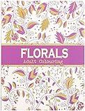 infactory Ausmalbuch: Malbuch für Erwachsene Florals mit 32 ornamentalen Pflanzen-Motiven (Ausmalbücher Erwachsene)