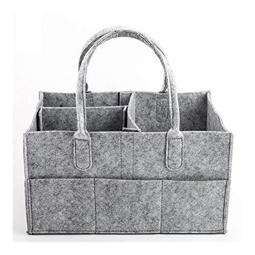 Diaper bag Boîtes à Couches for bébé, Sacs à Langer Compartiment Replaceable, Boîtes de Rangement, paniers en Feutre