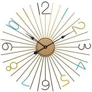 hsj WYQmm Personnalité de la Mode créative Horloge Murale Mode Moderne Fine Horloge latérale Simple Chambre Salon muet Hor...