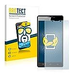 BROTECT Schutzfolie kompatibel mit Archos 55 Platinum (2 Stück) klare Bildschirmschutz-Folie