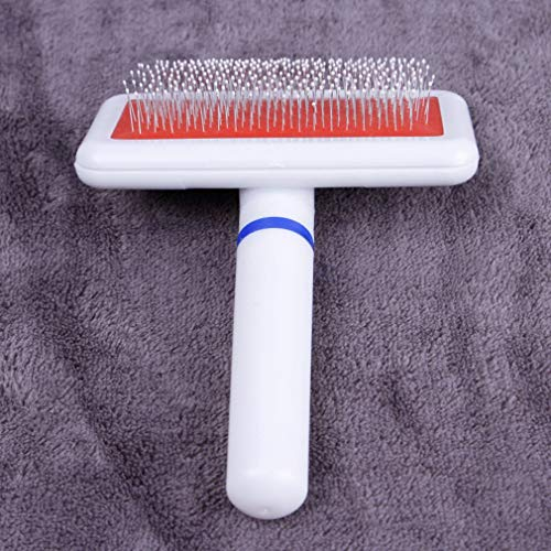 VHNBVHGKGHJ Dog Brush Dog Comb for Cat Scraper Puppy Slicker Gilling Brush Quick Clean Grooming Tool