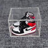 ahliwei Llavero Zapatillas De Baloncesto 3D Tridimensionales Jordan Aj1 Zapatos Pequeños Amantes Bolso Adornos Zapatillas Creativas Manualidades Regalos Un Par 39