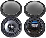 Hogtunes 362R-RM Gen3 6.5' 2 Ohm Replacement Rear Speakers With Grills for 2014+ Harley-Davidson FLH...