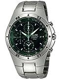 Seiko SND419P1 Montre chronographe en Titane pour Homme