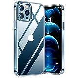 TORRAS Diamond Series für iPhone 12 Pro Max Hülle (Vergilbungsfrei) Durchsichtig Case Starke...