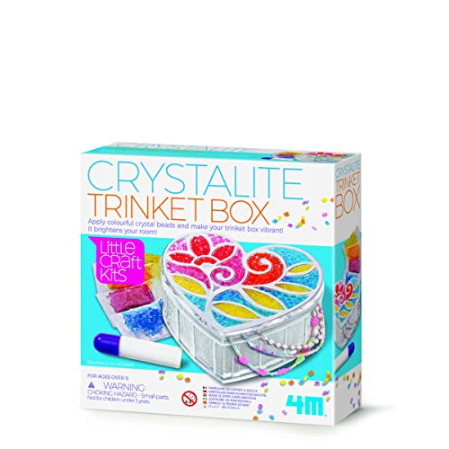 Little Craft 404768 - Joyero (4 m), diseño de cristalita, Multicolor