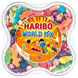 Haribo World Mix Resealable Plastic Container