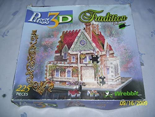 Wrebbit Puzz 3D Tradition Collection 16 Lakeview Road by Wrebbit