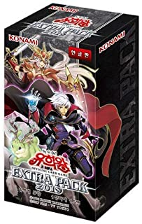 Yu-Gi-Oh! Booster Box Extra Pack 2019/15 Packs in 1 Box / 5 Cards in 1 Pack
