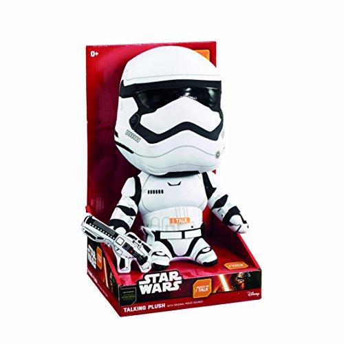 Jazwares 15236sw03734Star Wars Episodio VII 00.019.549Parlante Premium Peluche Personajes Stormtrooper 30cm