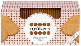Nyåkers Pepparkakor Galletas De Jengibre Suecas (150g) (Paquete de 2)