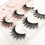 The Book of Lashes: Volume 2 - Sparkle - (Reusable False Eyelashes) - (Cruelty Free) - (3 Pairs)