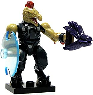 Halo Wars Mega Bloks LOOSE Mini Figure Covenant Jackal with Needler & Energy Shield [Series 6]