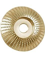 Disco de amoladora angular Muela abrasiva de madera para tallado Disco abrasivo Muela abrasiva angular Disco de púas Disco de tallado para Tallado Moldeado Pulido Herramienta cortadora de carpintería