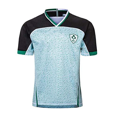 TT377 Copa Mundial De Rugby Jersey 2019, Irlanda, Camiseta para Fanáticos De La Copa Mundial, Polo De Ropa Deportiva