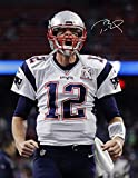 Kopoo Tom Brady Patriots Poster Reproduction autographe 60 x 91,5 cm