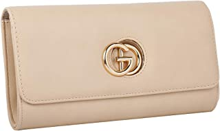 iwish Womens Faux Leather G Buckle Clutch Purses For Formal Dress and  Eveyday cc9bdfd7743bb