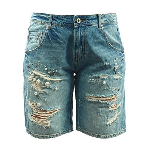 Fracomina FR18SPJNOLITA - Pantalones Vaqueros para Mujer