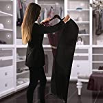 Bags-for-Less-Breathable-60-inch-Suit-and-Dress-Black-Garment-Bag-Cover-Hanging-Carrier-for-Storage-and-Travel
