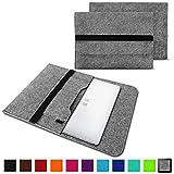 NAUC Laptoptasche Sleeve Schutztasche Hülle für Trekstor Surftab Theatre 13,3 Zoll Netbook Ultrabook Laptop Case, Farben:Hell Grau