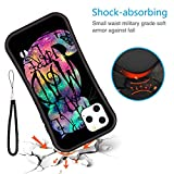 DISNEY COLLECTION Case for iPhone 11 Pro Max, Stylish Colorful Soft TPU Anti-Scratch Protective Cover for Men Lady Girls Cheshire cat in Alice in Wonderland Series