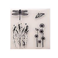 jokeWEN クリアスタンプ シリコンスタンプ DIYスクラップブッククラフトカードアルバムの透明スタンプシリコンシールシートの装飾