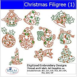 filigree embroidery designs