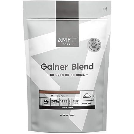 Marca Amazon - Amfit Nutrition Gainer Blend Sabor Chocolate, 3kg (anteriormente PBN)