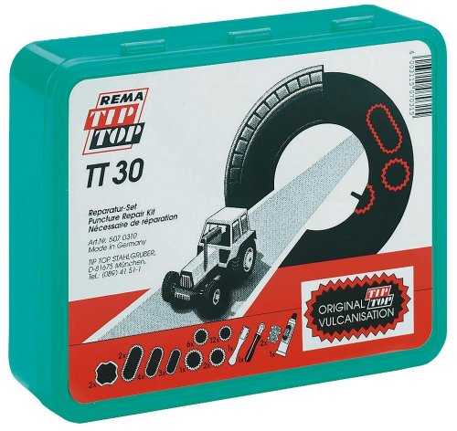 Kerbl 34675 Reifenreparatur - Set 37-teilig