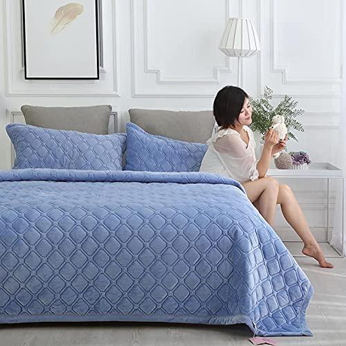 Överkast Dubbel/enkel Super King Size-täcken Dubbelsäng Patchwork Quilts Patchwork Sängöverdrag 100% bomullsöverdragsset Vändbar sängfilt? (Color : G, Size : 100 * 200CM)