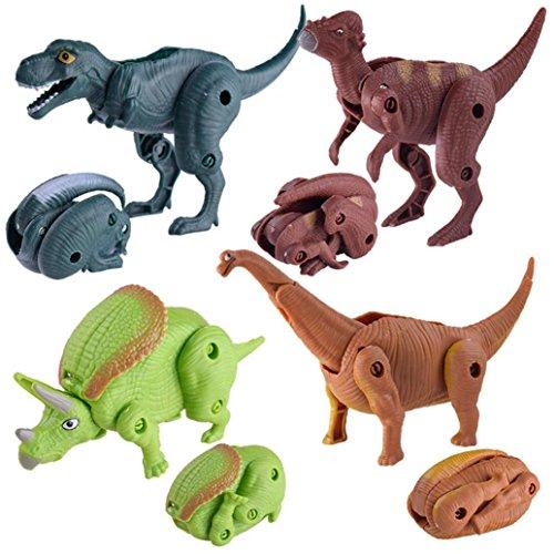 Juguete del bebé, RETUROM Colección de huevo de dinosaurio modelo de juguete de dinosaurio de simulación para niños