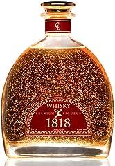 Single Malt Scotch Whisky 1818 Premium Liqueur Gold 23K