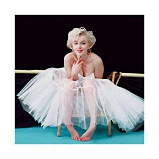 Pyramid America Marilyn Monroe Ballerina Hollywood Glamour Celebrity Actress Icon Photograph Photo Poster 15.75x15.75 inch