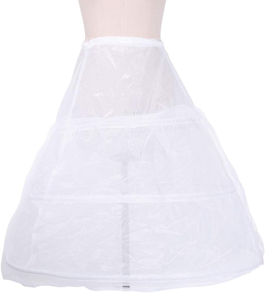 In a popularity Women Bridal Petticoat Milwaukee Mall - Hoop Floor-Length Full Pett Slip A-Line