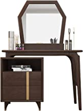 Nordic Dressing Table, ash Wood Dressing Table, Modern and Simple Small Apartment, Bedroom Dressing Table, Mini Dressing T...