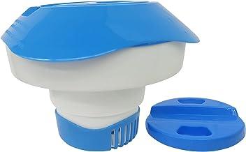 Honeyhouse Dispensador Cloro Flotante, 17cm Dispensador de Cloro para Piscina,Dispensador Químico Intex, Dispositivo de Dosificación Cloro