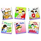 Oxford Reading Tree: Level 1+: Floppy's Phonics Fiction: Pack of 6